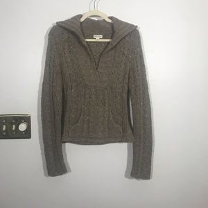 AMERICAN EAGLE OUTFITTERS Chunky Knit Sweater, Med